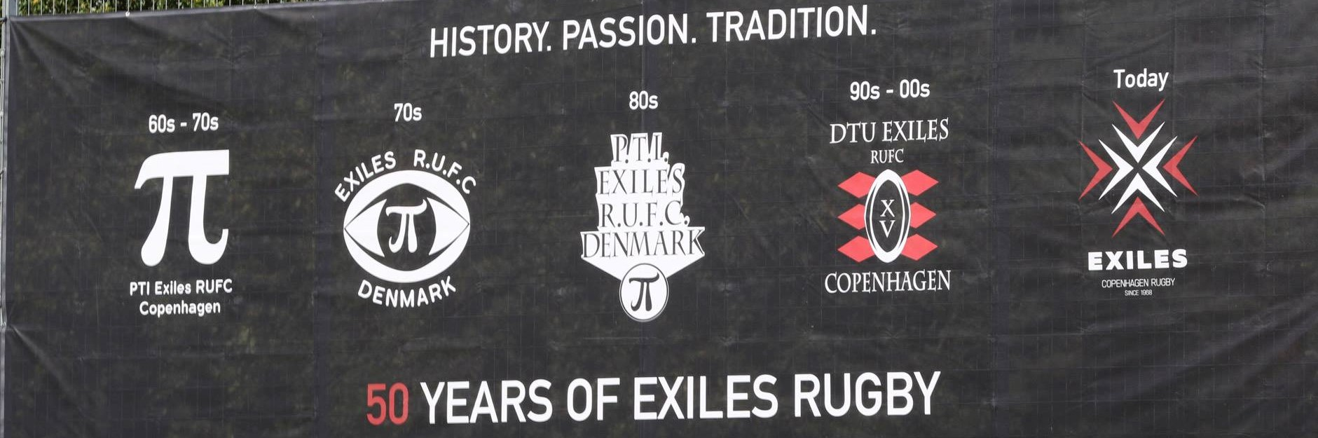 50 years of Exiles banner web